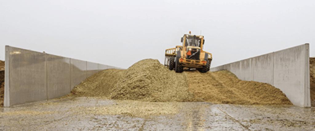 Afb: Bosch beton sleufsilo snijmais