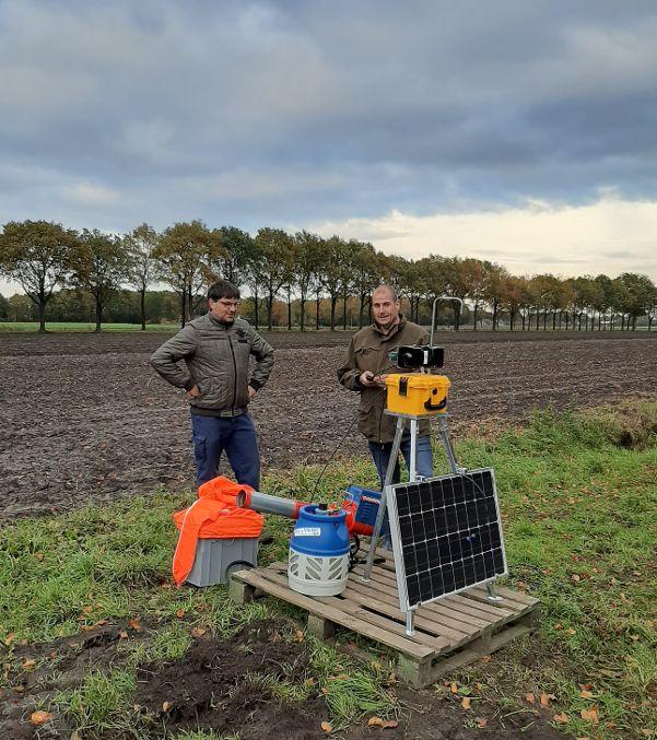 BirdAlert Vogelafweer Ecologische methode ter voorkoming van vogelvraat in mais en andere gewassen